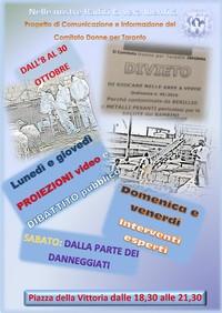 Brochure iniziative Donne per Taranto
