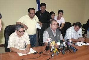 Magistrato José Marenco durante la conferenza stampa © (Foto G. Trucchi)