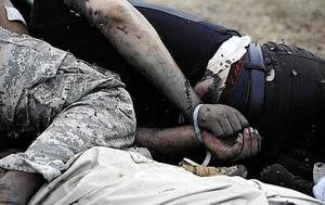 Soldati libici legati, ammazzati con una pallottola in testa