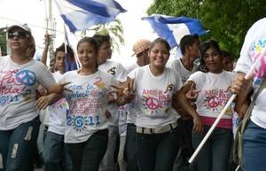 Marcia della Gioventù Sandinista 19J (Foto G.Trucchi)