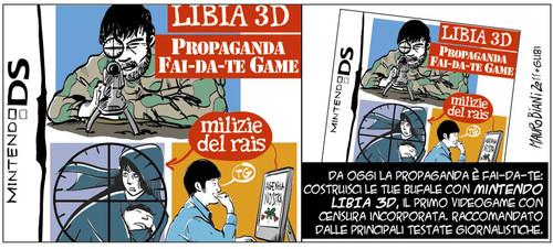 Vignetta sulle bugie di guerra