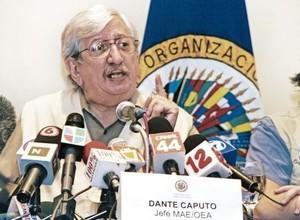 Dante Caputo (Foto END)