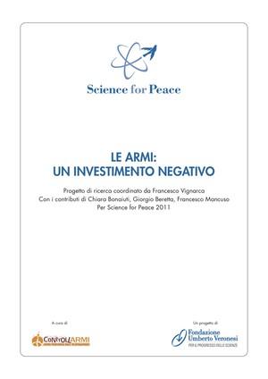 Le armi: un investimento negativo