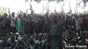 armed lou nuer youth in lik