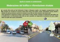 Moderazione del traffico e riforestazione stradale