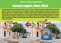 Fontana Leggera. Meno rifiuti