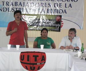 Matías Valle a Tegucigalpa agosto 2010 (Foto G. Trucchi)