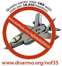 """""""NO F35"""" anche a Mirabello Monferrato"""