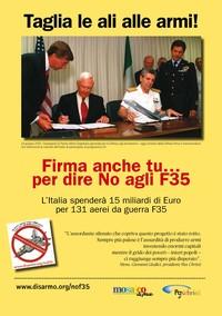 Firma anche tu... contro gli F-35
