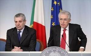 Governo - Monti e Di Paola