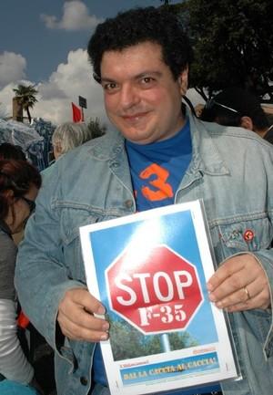 Massimo Paolicelli NO F35