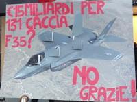 """Mozione """"NO F35"""" votata a Pioltello"""