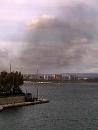 Incendio Ilva di Taranto
