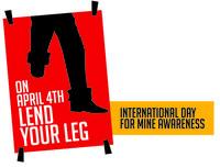 """Lancio mondiale della Campagna """"Lend your leg"""" in occasione dell'Anniversario dell'entrata in vigore del Trattato di Ottawa per la messa al bando delle mine."""