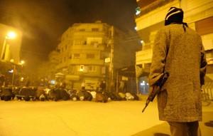 FSA (Free Syrian Army) gunman