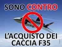 Il Comune di Sassari vota contro gli F-35