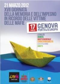 XVII Giornata della Memoria e dell'Impegno in ricordo delle vittime delle mafie