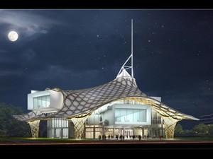 METZ (Lorena francese). Centre Georges Pompidou, succursale inaugurata nel maggio 2010 della famosa struttura parigina
