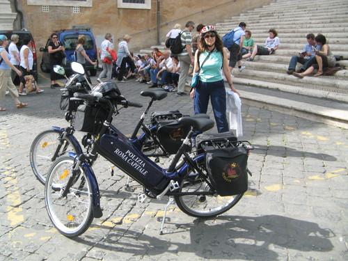 Roma, manifestazione Salvaciclisti