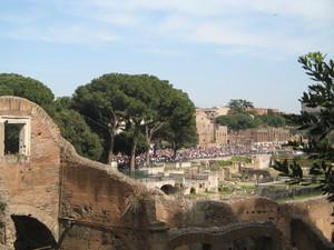 Salvaciclisti a Roma