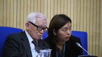 """La presenza di Mikiso Iwasa, sopravvissuto alla Bomba, ha aggiunto viva testimonianza alla pressante richiesta di """"Ban the Nuclear Weapons"""""""