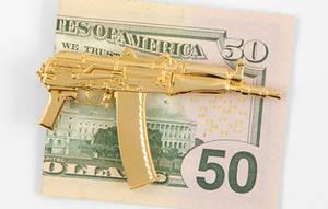 soldi armi oro ak47