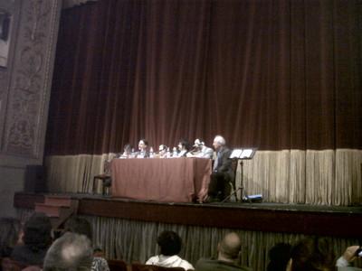 """Teatro Valle, 18 maggio 2012. Presentazione del libro """"Chi ha ucciso Pio La Torre"""""""