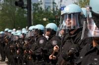 polizia al vertice NATO