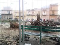 Alberi tagliati a piazza Lo Jucco il 30 maggio 2012