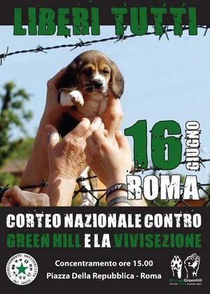 Manifestazione nazionale il 16 giugno a Roma