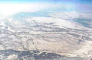 Feb. 2003 La Taiga siberiana sotto la neve