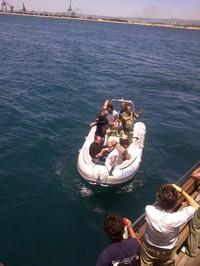 Azione/Missione per rilevare gli inquinanti nel mare di Taranto