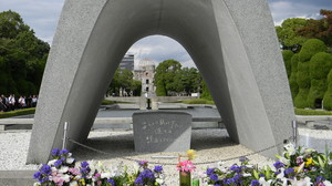 Hiroshima memorial monuments