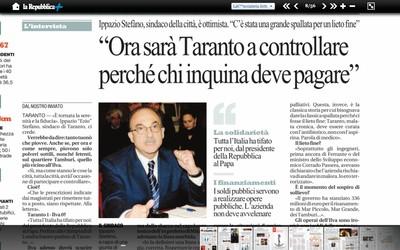"""Articolo di """"Repubblica"""" - 8 agosto 2012"""