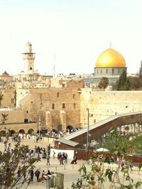 Gerusalemme, d'oro, di rame e di luce