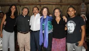 Delegazione si riunisce con Ortega (Foto SOAW)