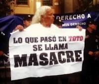 Proteste per la strage di Totonicapán
