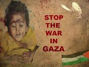 Stop the war on Gaza
