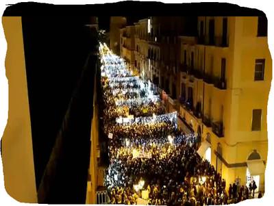 15 dicembre 2012, corteo a Taranto: salute, ambiente, cultura, reddito