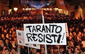 15 dicembre 2012, Taranto contro il decreto salva-Ilva (salute, ambiente,cultura,reddito)