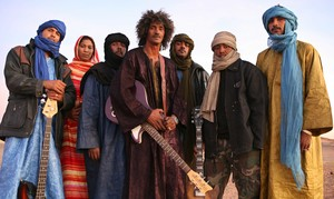 La band tuareg dei Tinariwen