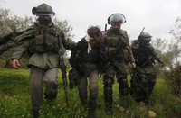 soldati israeliani in Palestina