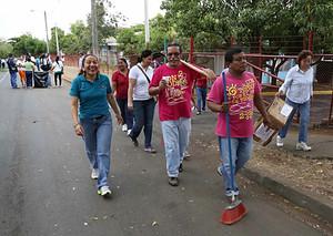 Giornate di pulizia (Foto lavozdelsandinismo.com)