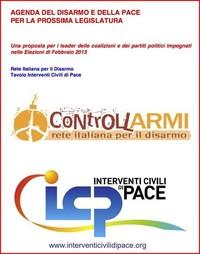 Un'Agenda per costruire Disarmo e Pace