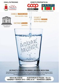 AQUAE MUNDI - Premio UNESCO per l'AMBIENTE 2011