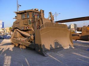 Bulldozer israeliano