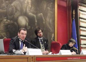 Fondazione Robert Fitzgerald Kennedy - Santiago A. Canton e Federico Moro alla Camera dei Deputati