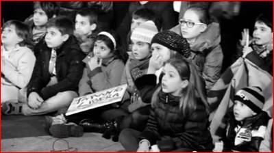"""Immagini dal filmato """"Frammenti del 15 dicembre"""" a Taranto"""