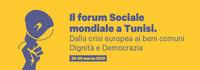 CARTA di TUNISI- Forum Sociale Mondiale