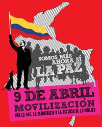 Colombia: il 9 aprile si marcia per la pace